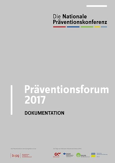 Cover Dokumentation Präventionsforum 2017