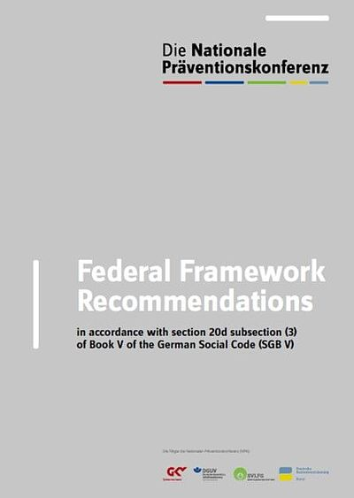 Cover Federal Framework Recommendations